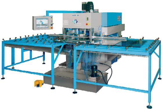 Автоматический станок c ЧПУ для сверления отверстий и обработки стекла ALCOR-100