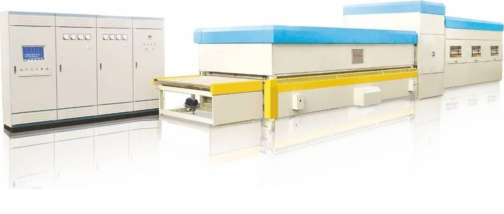 Печи для производства закаленных стекл со сферическим моллированием Серия FC-SQG