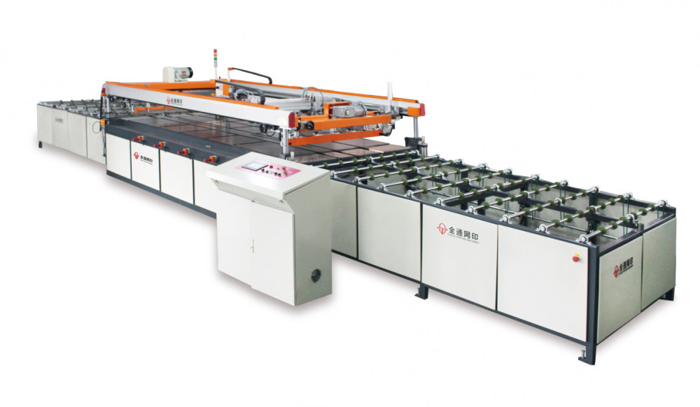 Автоматический принтер для шелкотрафаретной печати с входным и выходным конвейерами TY-GL1526A