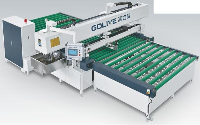 Автоматический станок для притупления фаски и шлифовки кромки на стекле GSZM