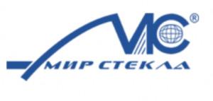 Логотип МИР СТЕКЛА
